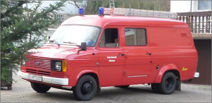 Altes Tragkraftspritzenfahrzeug bis 2009