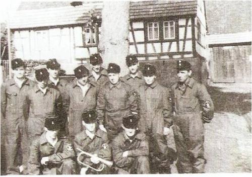 Feuerwehrkameraden 1958