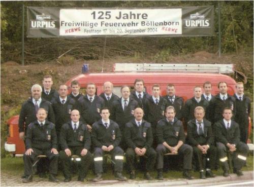Feuerwehrkameraden 2004