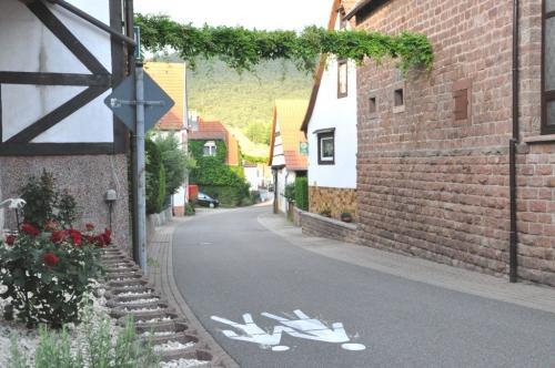 Ortseinfahrt von Reisdorf kommend