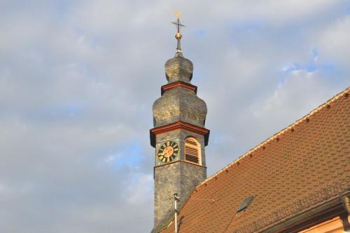Kirche Mariä Geburt Glockenturm