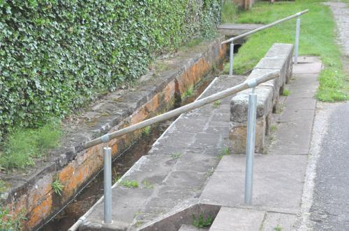 Historische Wassertrete
