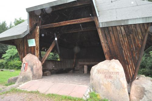 Böllenborner Hütte beim Grillplatz