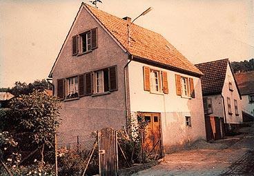 80er Jahre, Haus Nebert, obere Brunnenstraße