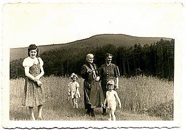 40er Jahre, im Höllenpfuhl mit Blick auf Steinernes Köpfl