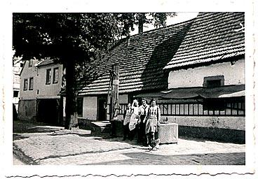 Dorfbrunnen und Linde