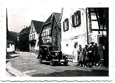 50er Jahre, 1. Auto in Böllenborn (Lloyd)