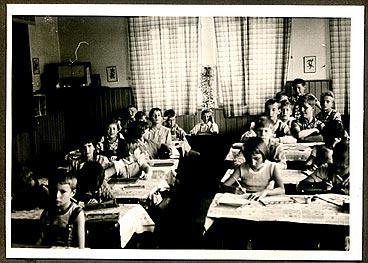 Ende 50er/Anfang 60er Jahre, Schulklasse