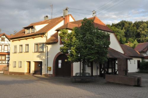 Feuerwehrhaus in Böllenborn